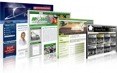 Thiết kế website giới thiệu công ty và giới thiệu sản phẩm