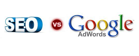 Phân biệt quảng cáo google adwords và google seo web
