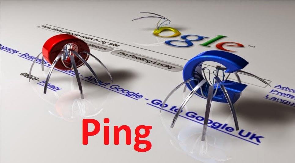 Ping giúp website bạn được index nhanh hơn