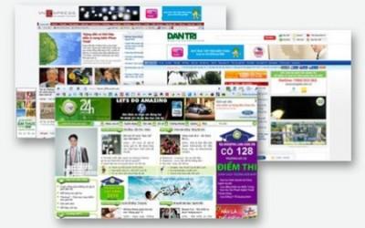 Đăng banner quảng cáo trên báo mạng, điện tử