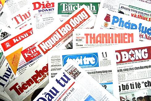 Dịch vụ quảng cáo báo giấy
