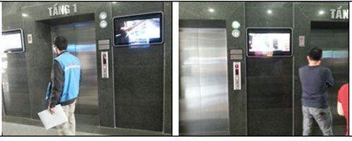 Bảng báo giá quảng cáo LCD trong thang máy tại Hà Nội