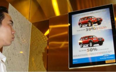 Quảng cáo trong thang máy tại Hà Nội, TP HCM