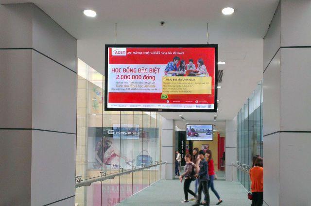 Quảng cáo LCD trong thang máy