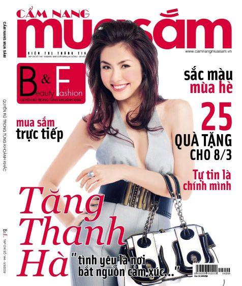 Bảng giá quảng cáo tạp chí Cẩm Nang Mua Sắm 2015