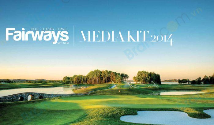 Bảng giá quảng cáo Tạp chí Fairways 2015