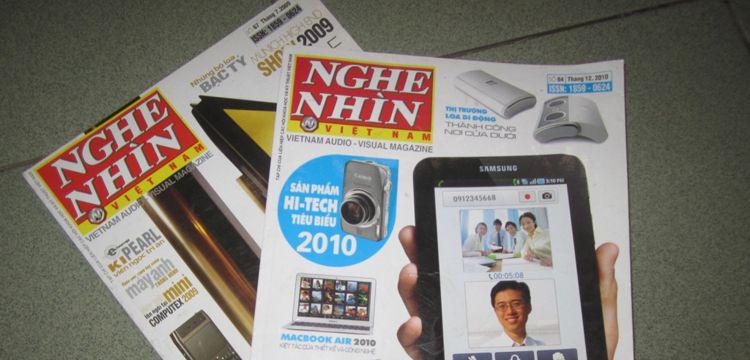 Bảng giá quảng cáo Tạp chí Nghe Nhìn 2015