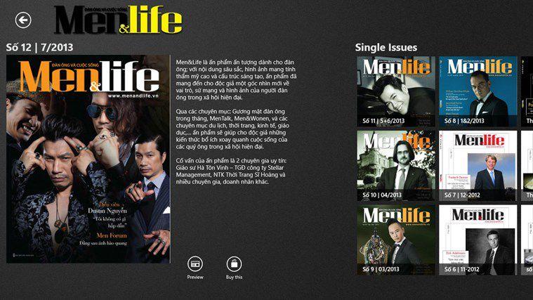 Tạp chí Men&Life