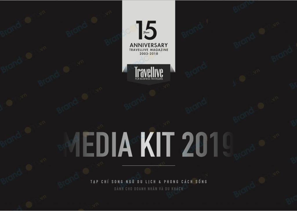 Bảng giá quảng cáo Tạp chí Travellive 2019