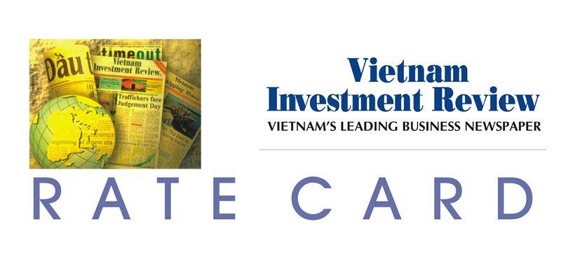 Bảng giá quảng cáo Báo Vietnam Investment Review-VIR 2015