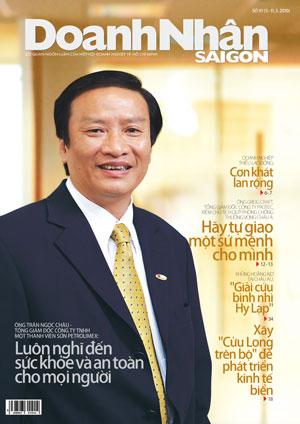 Bảng giá quảng cáo trên tạp chí Doanh Nhân Sài Gòn 2015