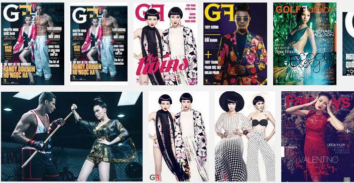 Bảng giá quảng cáo Tạp chí GF 2015