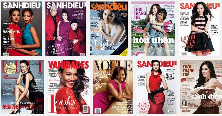 Bảng giá quảng cáo Tạp chí Sành điệu 2015