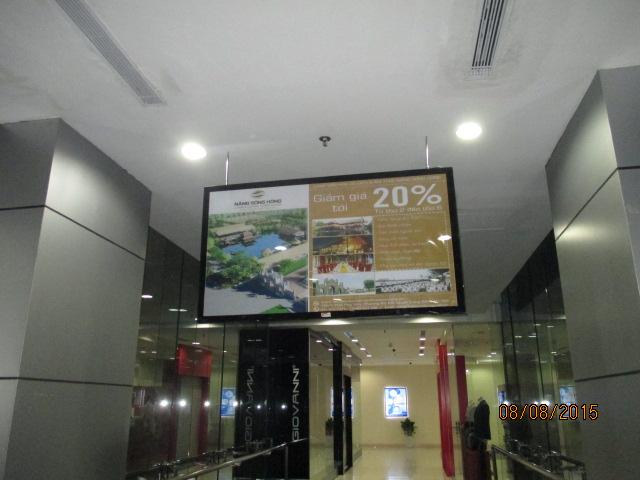Những ưu điểm của quảng cáo Frame trong thang máy