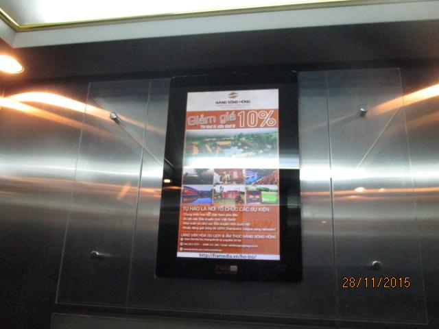 Bảng giá quảng cáo Frame trong thang máy tại Đà Nẵng