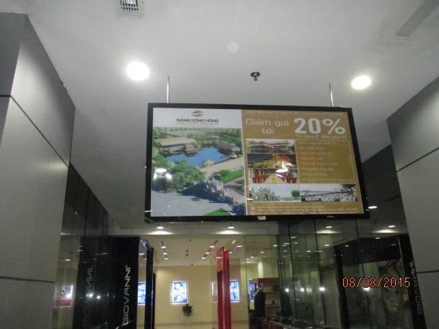 Bảng giá quảng cáo Poster Frame trong thang máy tại Hà Nội 2016