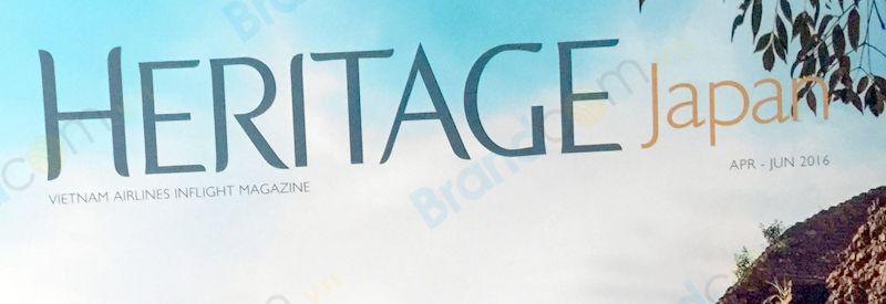 Bảng giá quảng cáo tạp chí Heritage Japan