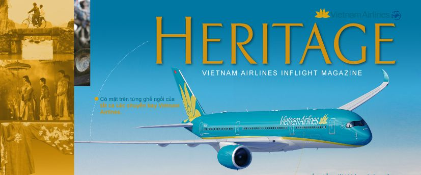 Bảng giá quảng cáo tạp chí Heritage Vietnam Airline