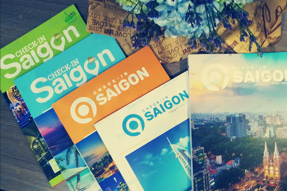 Bảng giá quảng cáo tạp chí Check-in Sài Gòn