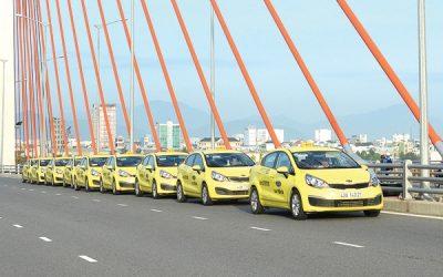 BRANDCOM Quảng cáo trên xe taxi tại Đà Nẵng