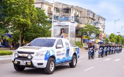 Mô hình Quảng Cáo dịch vụ trên xe cá nhân