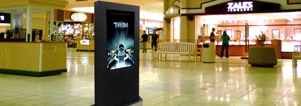 Quảng cáo LCD Frame tại trung tâm thương mại