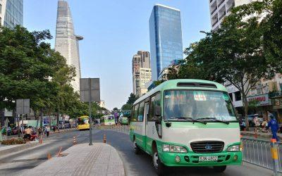 Quy định về quảng cáo trên xe buýt cho doanh nghiệp