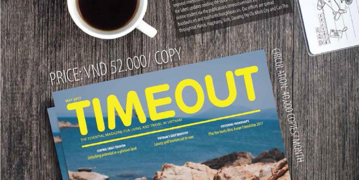 Bảng giá quảng cáo tạp chí Timeout
