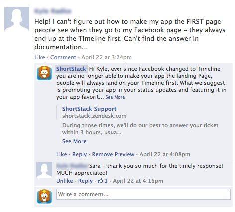 Fans trên facebook đánh giá cao phản ứng kịp thời từ người quản lý. Facebook là nơi hoàn hảo để có sự mở trong giao tiếp với khách hàng.