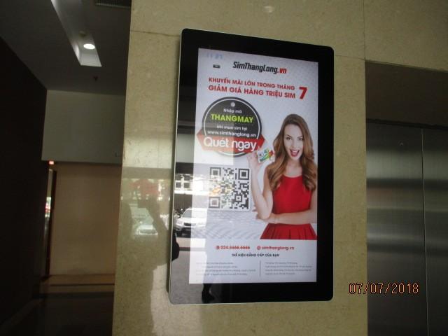 Quảng cáo trong thang máy biến sự chờ đợi thành tiền