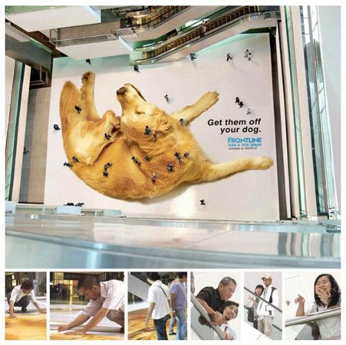 Ambient Advertising quảng cáo mà không phải quảng cáo