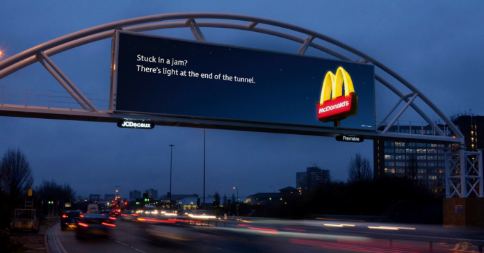 6 quảng cáo ngoài trời áp dụng kĩ thuật số nổi bật