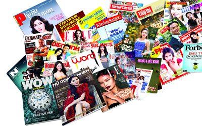 Cách quảng cáo trên tạp chí