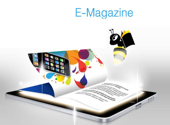 Quảng cáo báo điện tử bằng Emagazine