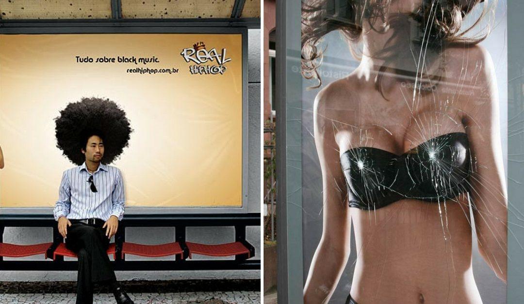 """Top 20 quảng cáo """"chống chán"""" cho trạm chờ xe bus (P1)"""
