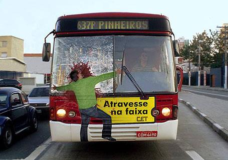 Quảng cáo xe buýt một cách thông minh và sáng tạo (Phần 2)