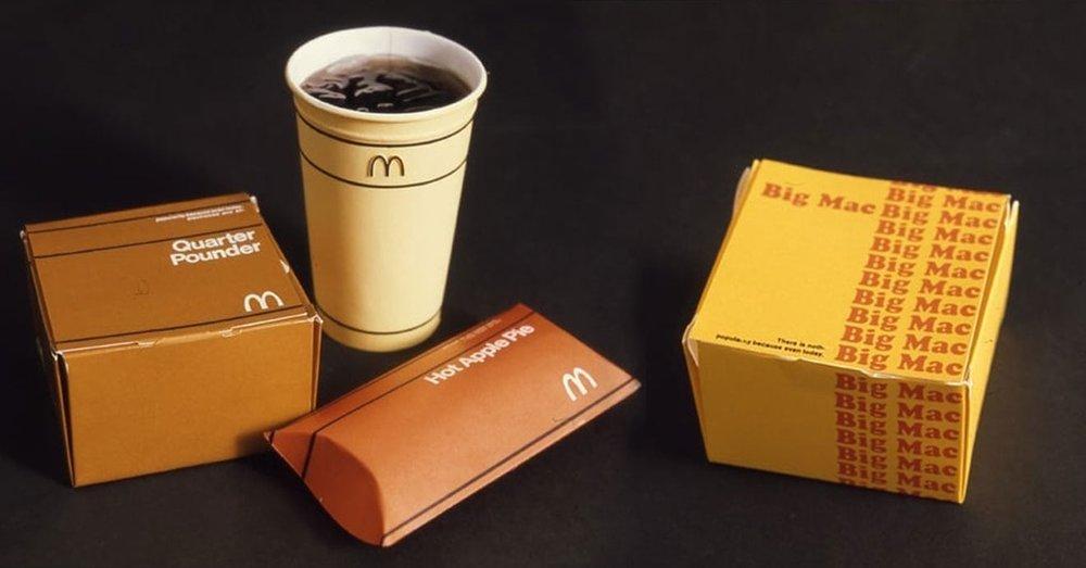 Thiết kế bao bì từ 46 năm trước suýt được McDonald's lựa chọn