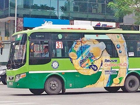 Quảng cáo xe buýt ở TPHCM nhà nước thất bại thì để tư nhân làm