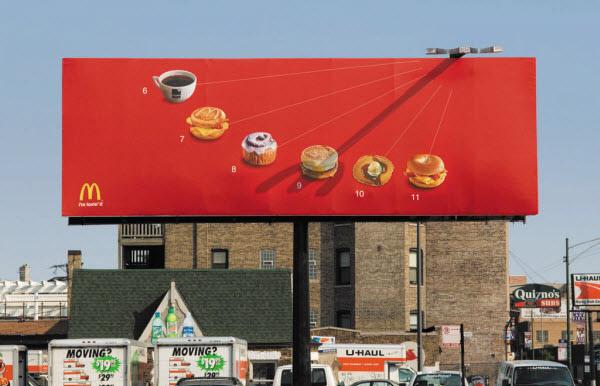 11 biển quảng cáo ấn tượng