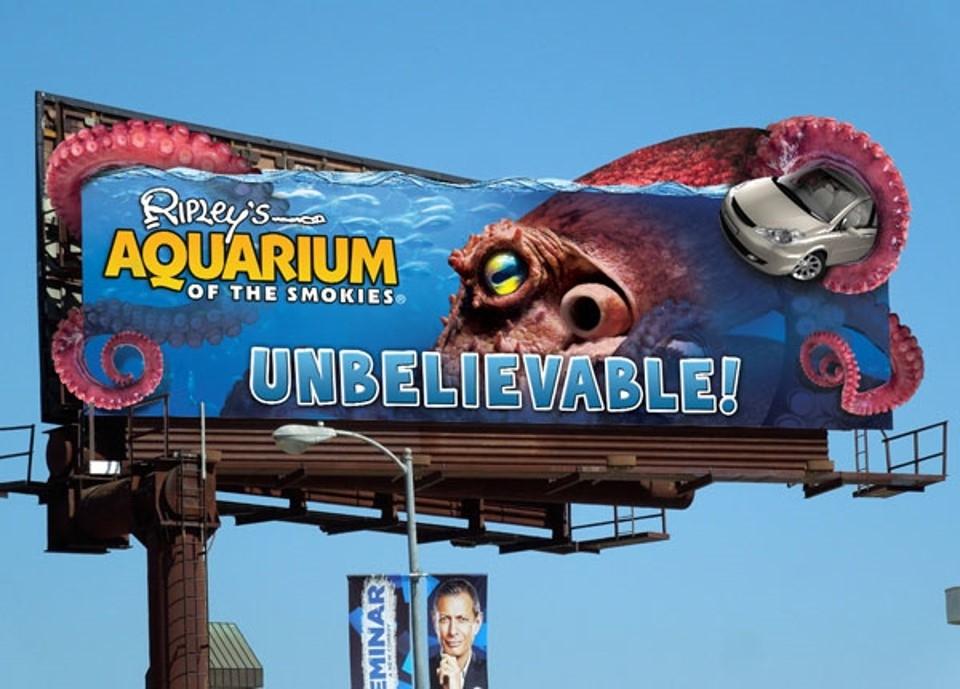Những biển quảng cáo Billboard sáng tạo dành cho người thích ngắm