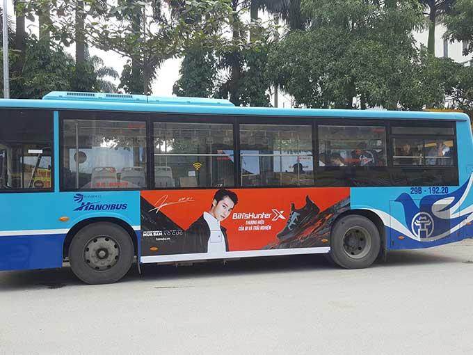 Quảng cáo xe buýt toàn quốc