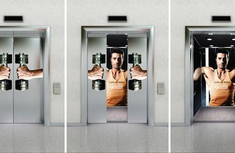 Quảng cáo thang máy Chicilon