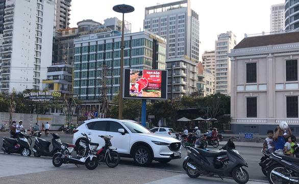 Hình ảnh tại trung tâm thành phố Nha Trang - Ảnh: OOH Club