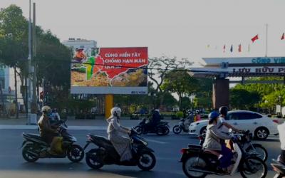 Ngành quảng cáo lan truyền thông điệp cùng miền Tây chống hạn mặn lịch sử