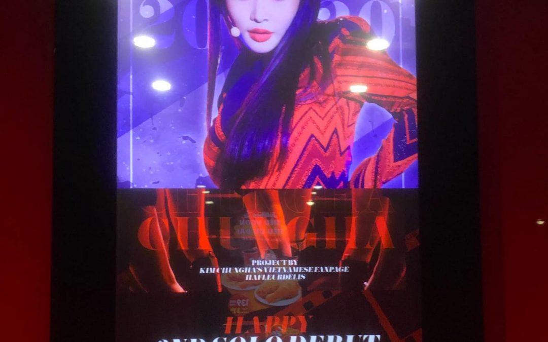 Quảng cáo tuyên truyền cho idol thần tượng tại Việt Nam