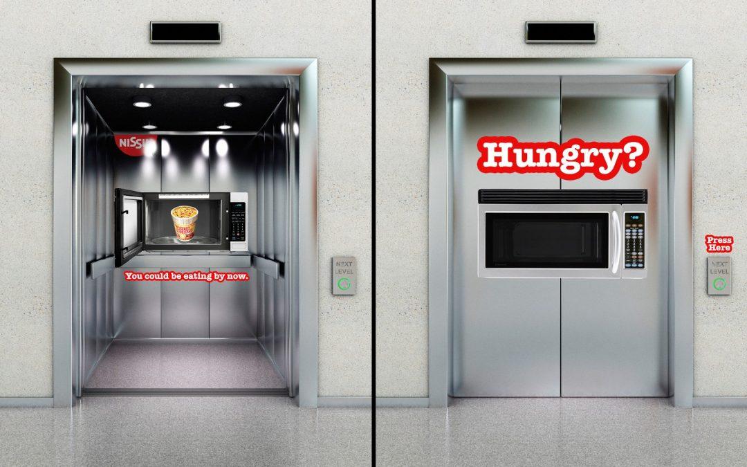 7 Chiến dịch quảng cáo thang máy – Biến sự chờ đợi thành cơ hội