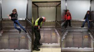 Trải nghiệm cảm giác mạnh khi vào thang máy