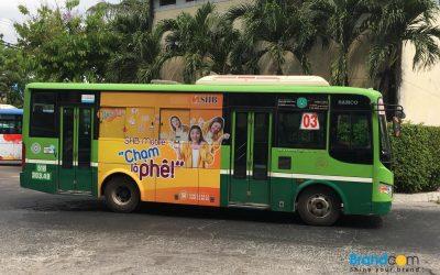 Quảng cáo trên xe bus và các hình thức quảng cáo trên xe bus hiệu quả