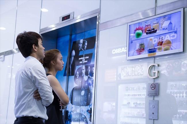 Quảng cáo LCD Frame trong thang máy và những điều cần biết