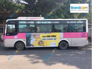Quảng cáo trên xe bus tại Hải Phòng
